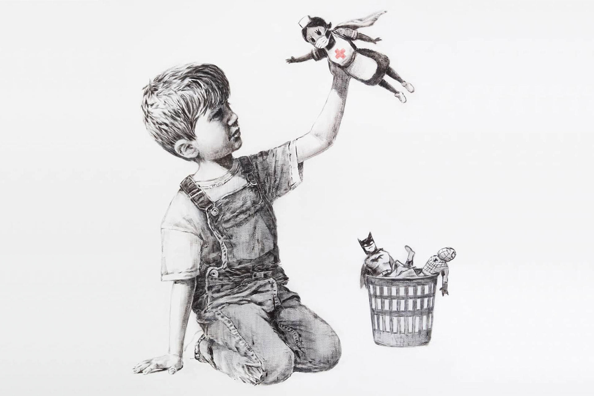 Banksy - Game Changer Artwork