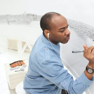 Stephen Wiltshire - Drawing New York